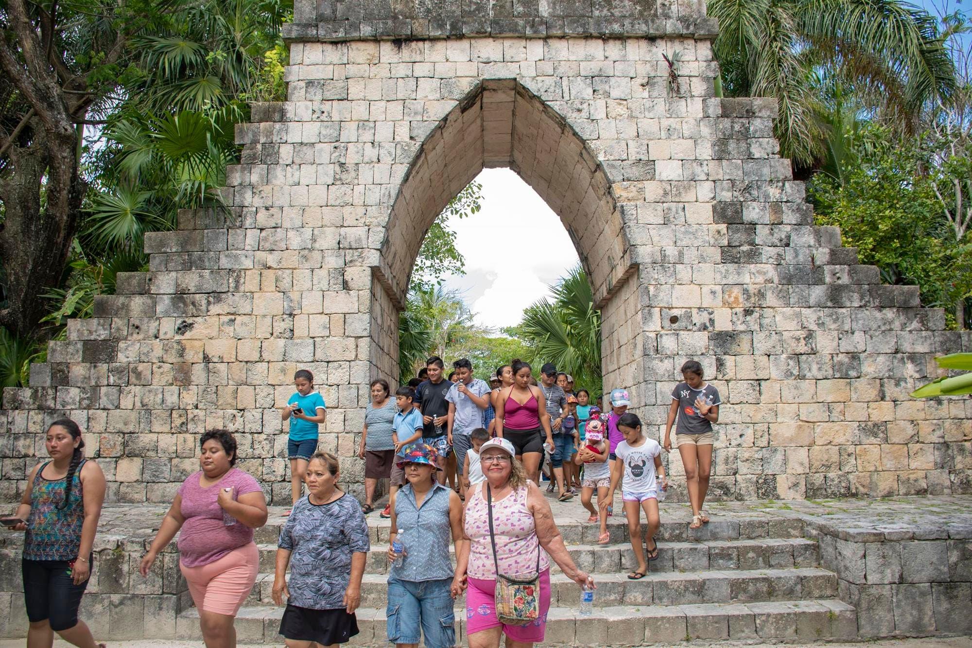 Impulsan convivencia familiar en centros ecoturísticos de Cozumel