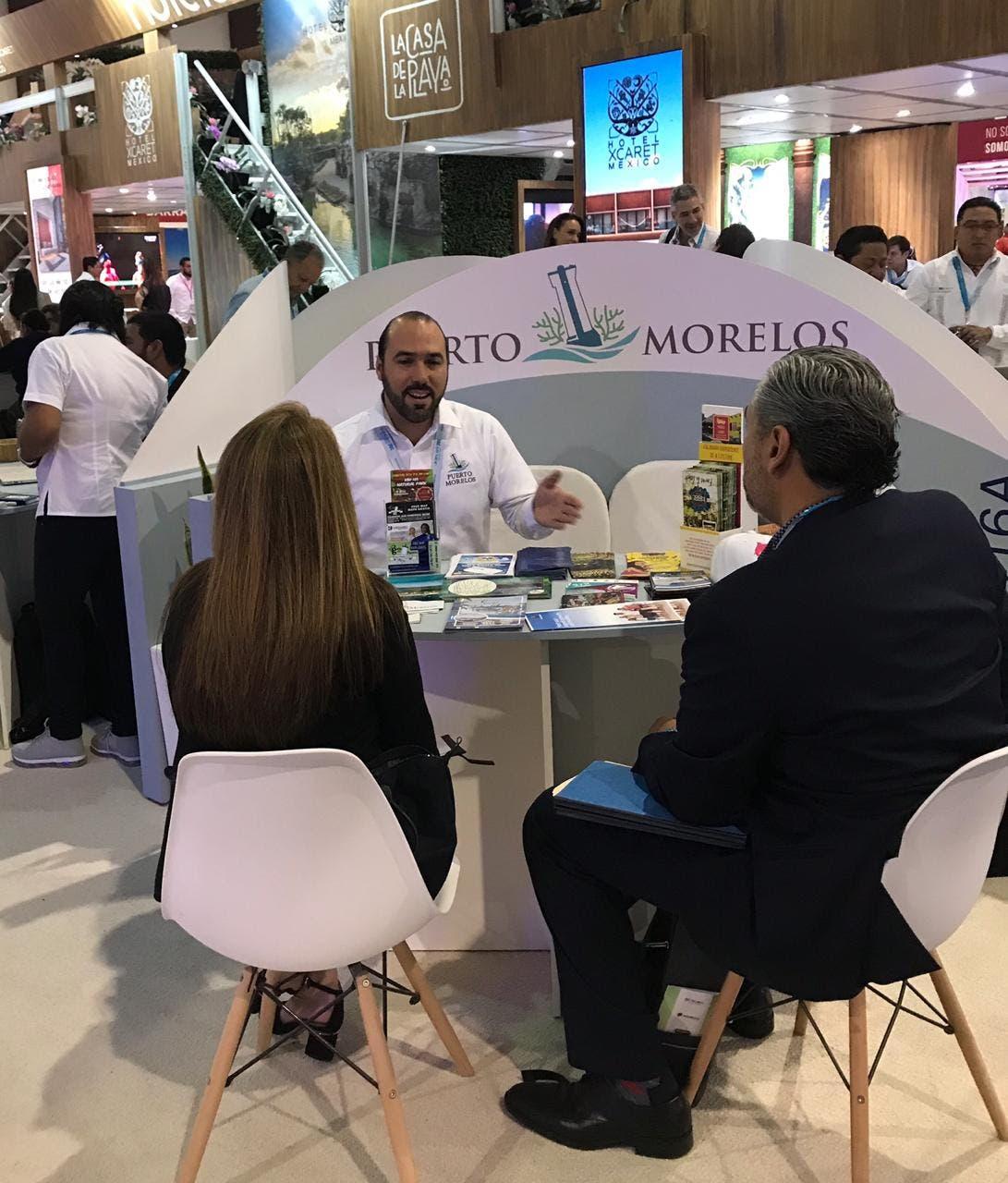 Héctor Tamayo Sánchez, director municipal de Turismo, en el ´Tianguis Turístico 2019´