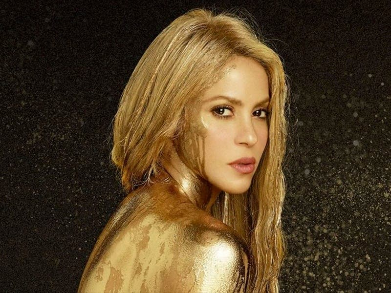 Shakira muestra su talento oculto