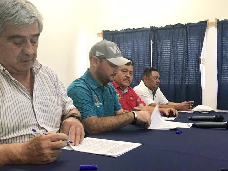 Firma convenio la COJUDEQ con Copa Telmex Telcel 2019