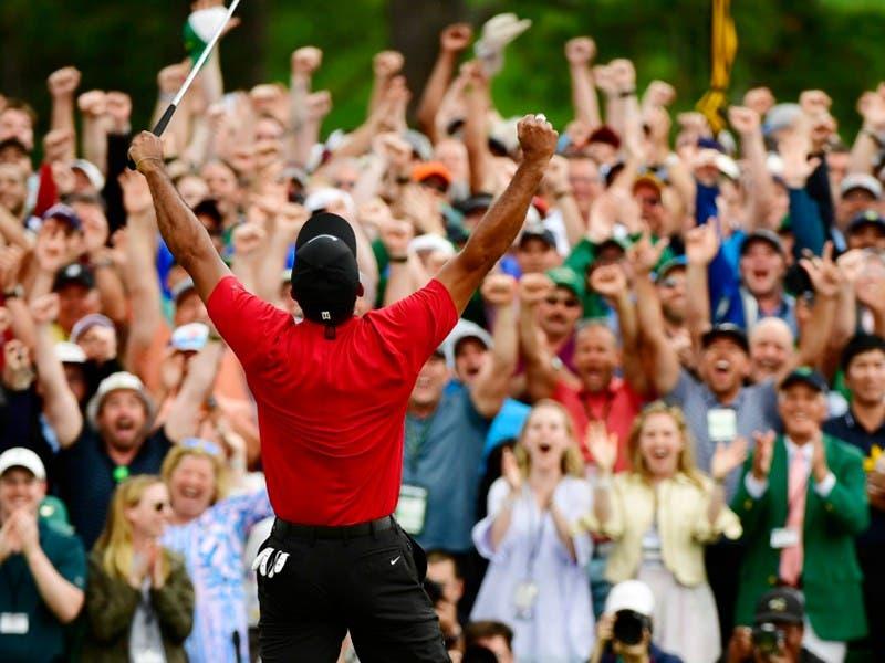 Tiger Woods gana su quinto Masters de Augusta