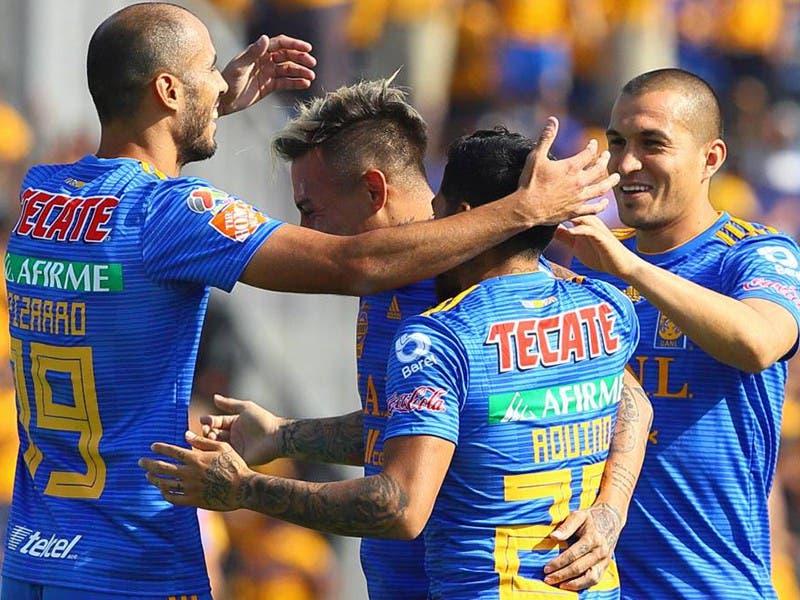Liga MX: Tigres golea a Lobos BUAP en Jornada 14 Clausura 2019