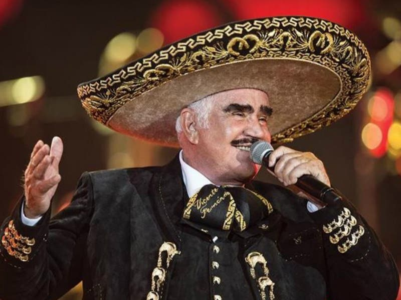 Vicente Fernández vuelve a los escenarios