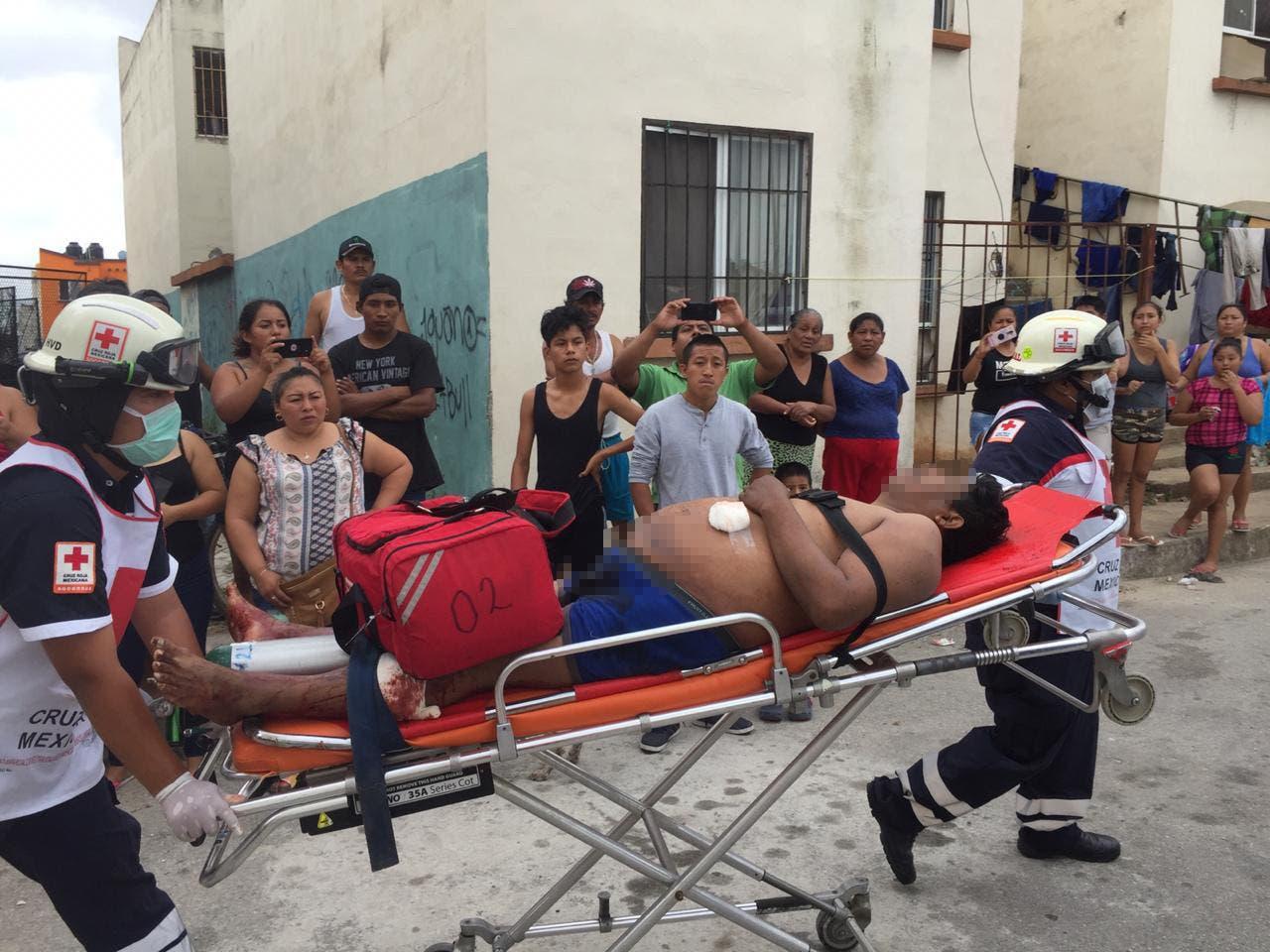 Dos muertos y dos lesionados fue el saldo de un ataque armado registrado esta tarde en el fraccionamiento Villas Otoch Paraíso.