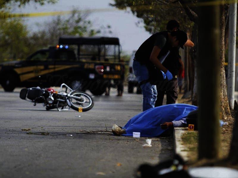 Muere motociclista en Yucatán