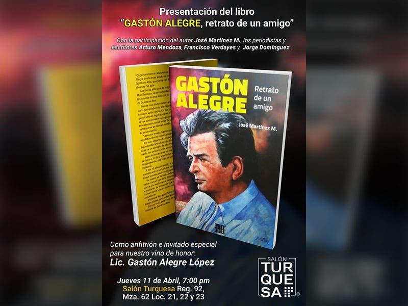 Don Gastón Alegre bajo la mirada de un amigo