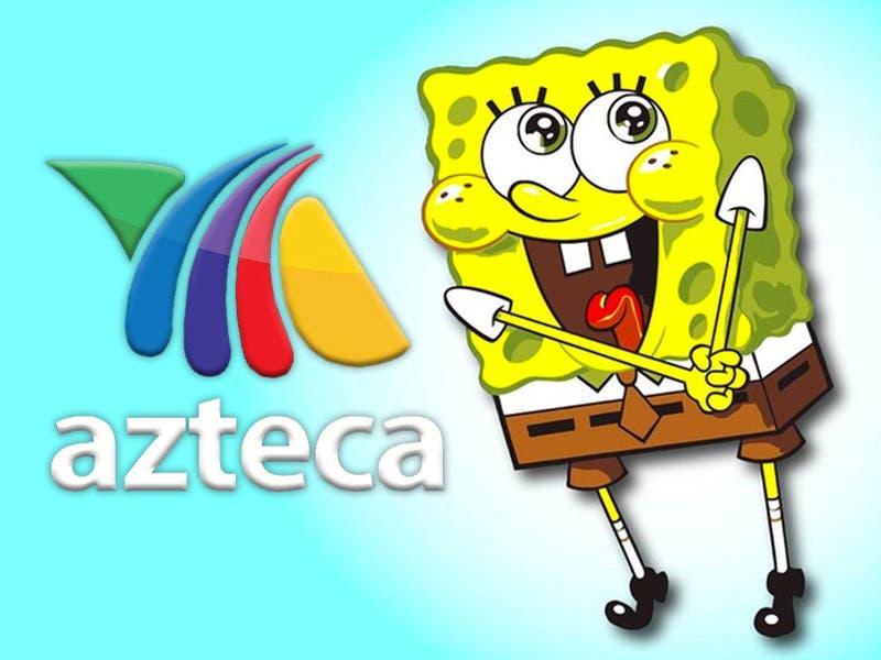 Bob Esponja se va a Tv Azteca