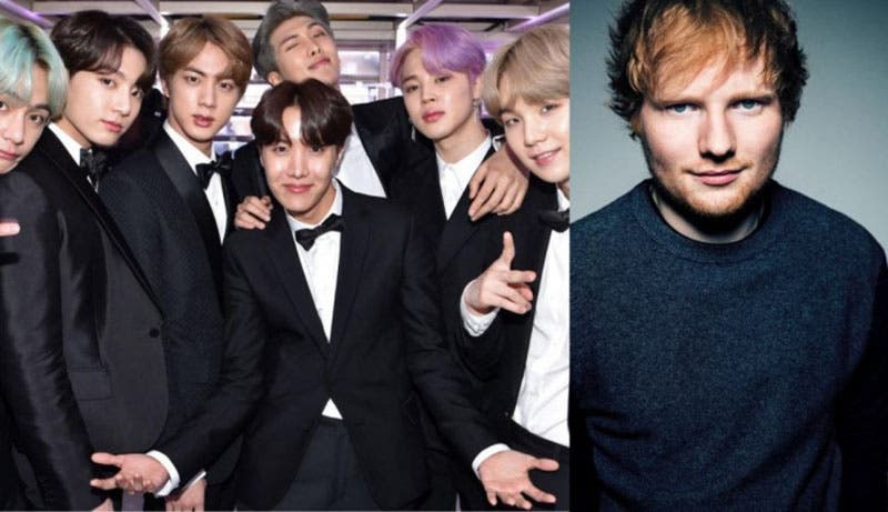 BTS y Ed Sheeran, juntos en 'Map of the Soul: Persona'