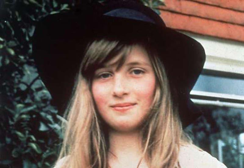 Princesa Diana de Gales, muy joven