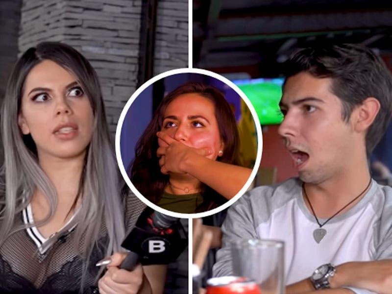 Video: Infiel expuesto termina coqueteando con la chica Badabun