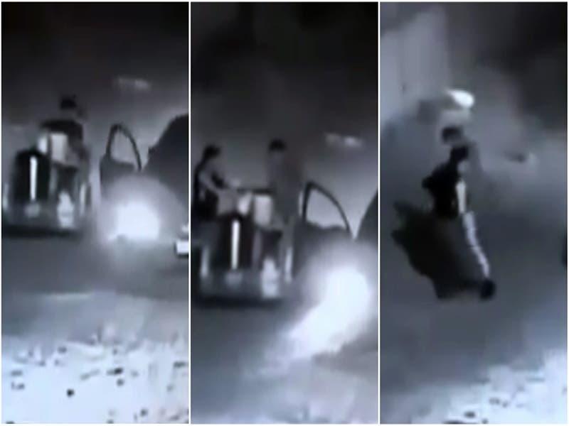 VÍDEO: Vendedor de Tamales es asaltado y despojado de la ganancia del día