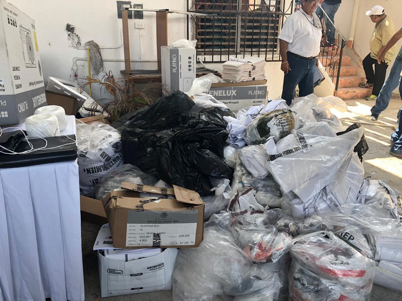 Reciclarán 18 toneladas de basura electoral en Quintana Roo.