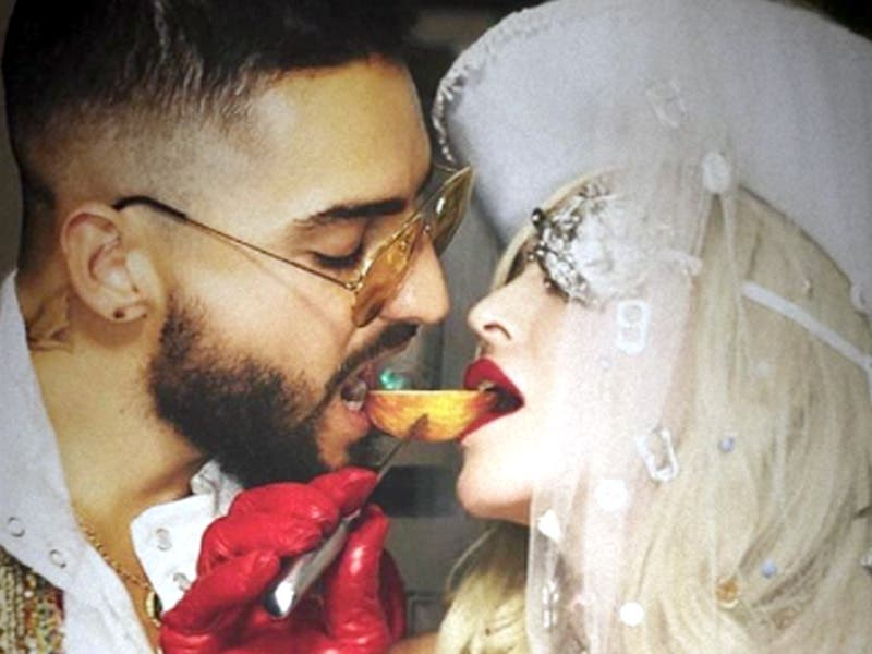 Madonna y Maluma anuncian insolita colaboración