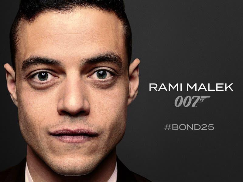 Rami Malek será el nuevo villano en James Bond