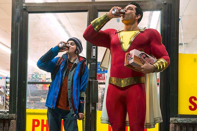 """""""¡Shazam!"""" innova el género de los superhéroes"""