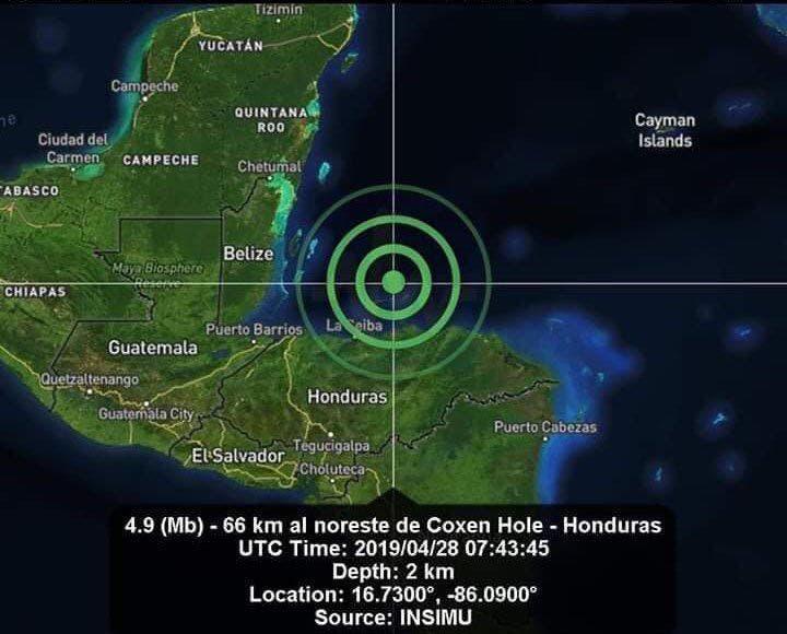 Activa Quintana Roo protocolos de seguridad tras sismo en Honduras