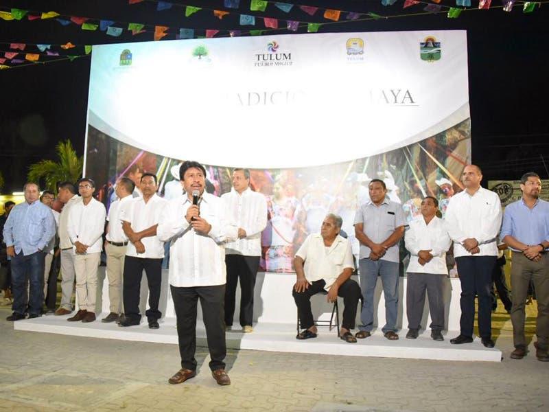 Se preservará la cultura maya en Tulum: Víctor Mas Tah