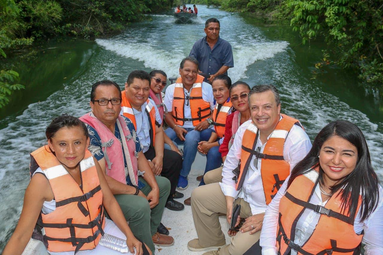 Se compromete Luis Alegre impulsar la creación del corredor turístico Rivera del Río Hondo