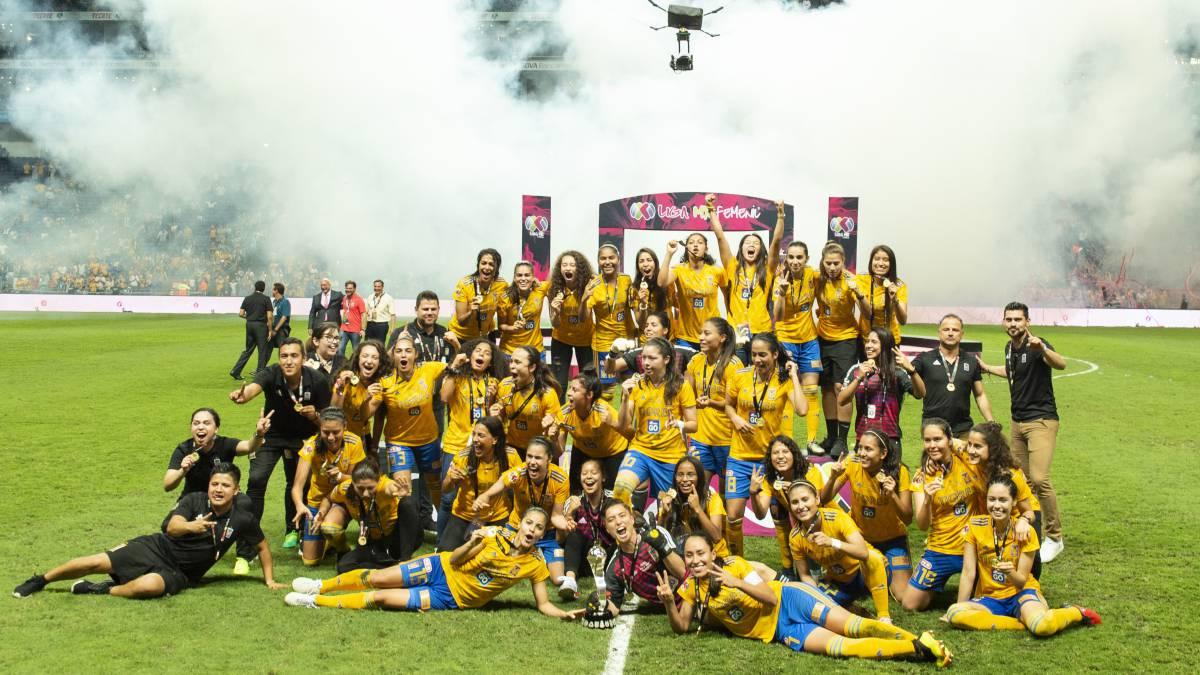 Liga MX Femenil: Tigres, Campeonas del Clausura 2019