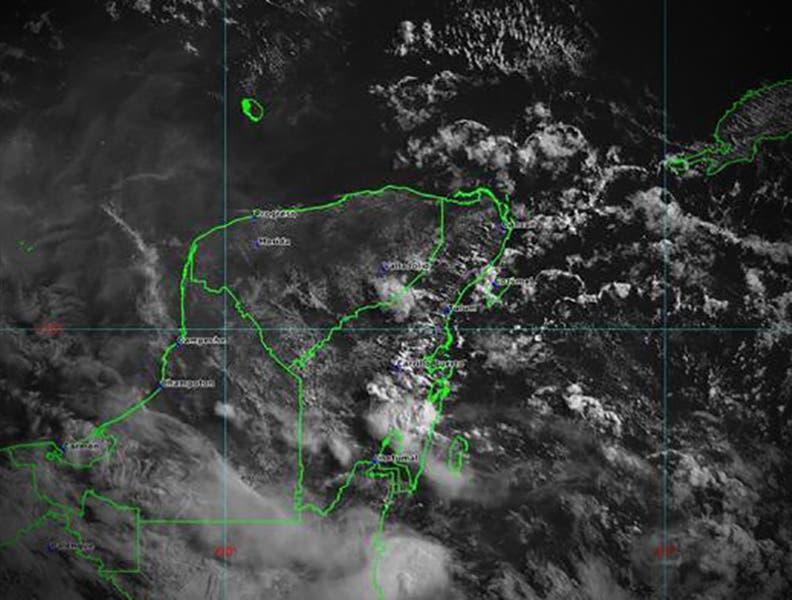 Pronóstico del clima Yucatán: posibilidad de lluvias