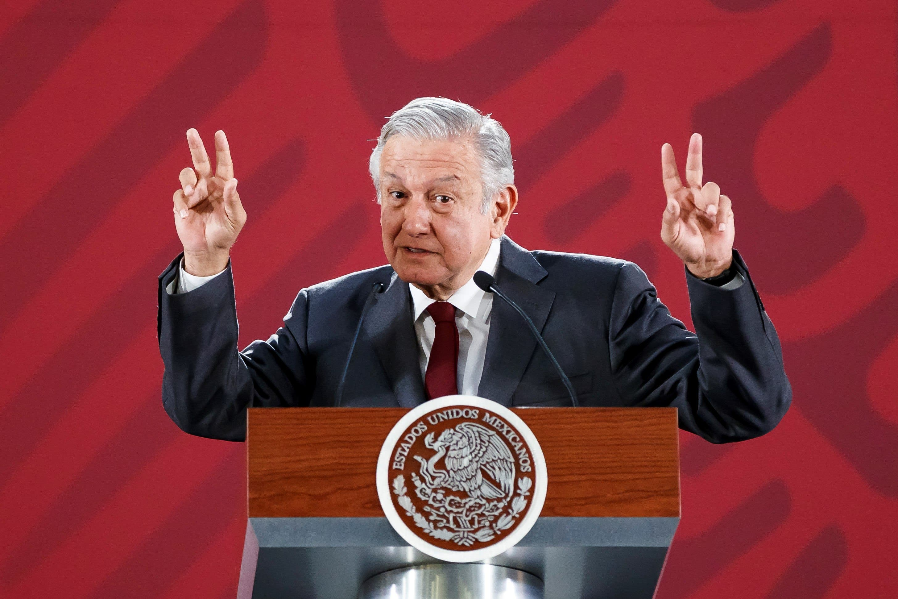 """Reitera AMLO, """"México crecerá 2 % en 2019"""""""
