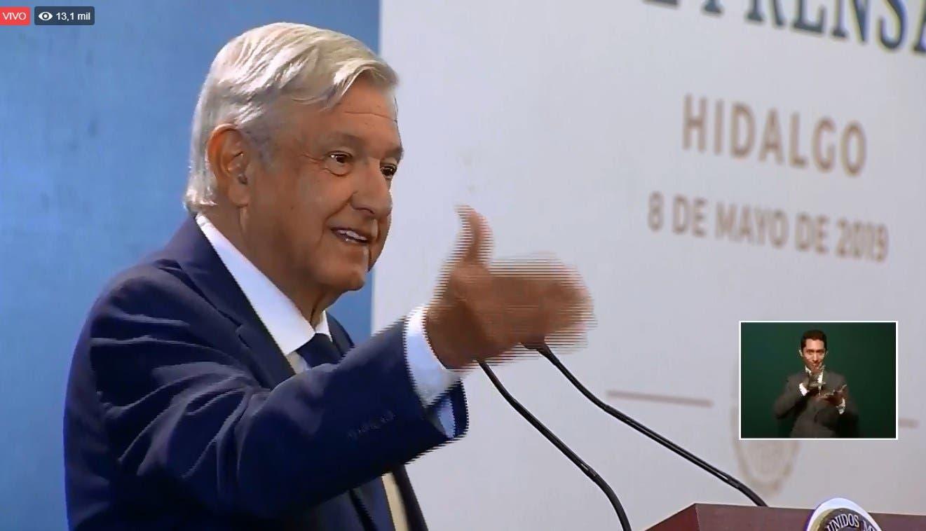 """""""Cerrar fronteras para los productores es una contradicción si se está buscando resolver el fenómeno migratorio"""", dijo López Obrador."""