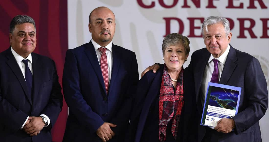 Presenta AMLO y Cepal plan para desarrollo del sur y Centroamérica