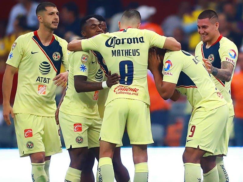 Liga MX: América derrota a Cruz Azul en Cuartos de Ida Clausura 2019