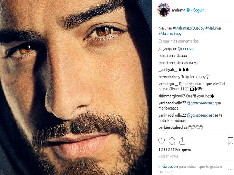 Maluma quien fue criticado por Armando Manzanero, regresó a su cuenta de Instagram