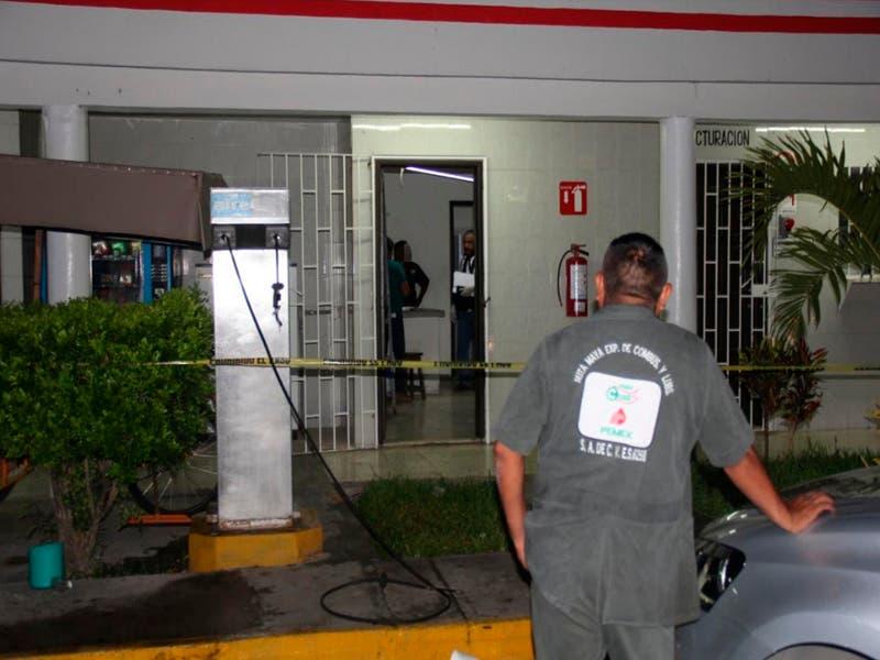 Asaltan gasolinería en Felipe Carrillo Puerto