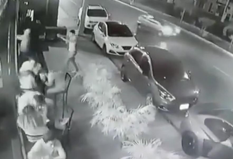 Momento del ataque, ver video