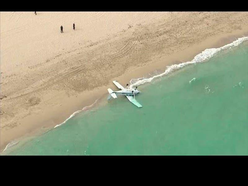 Avioneta rumbo a Florida cae en el Atlántico, hay un muerto