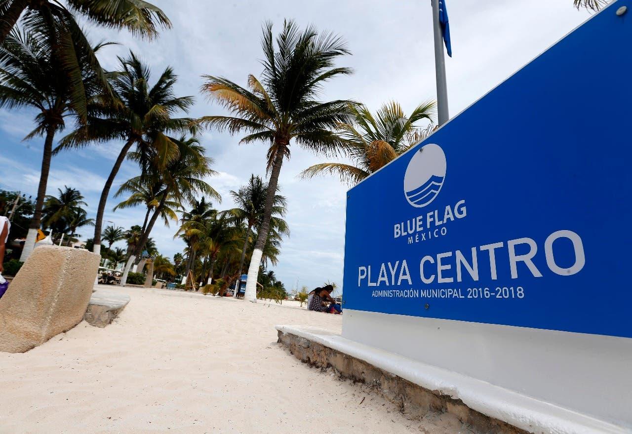 Playa Centro de Isla Mujeres