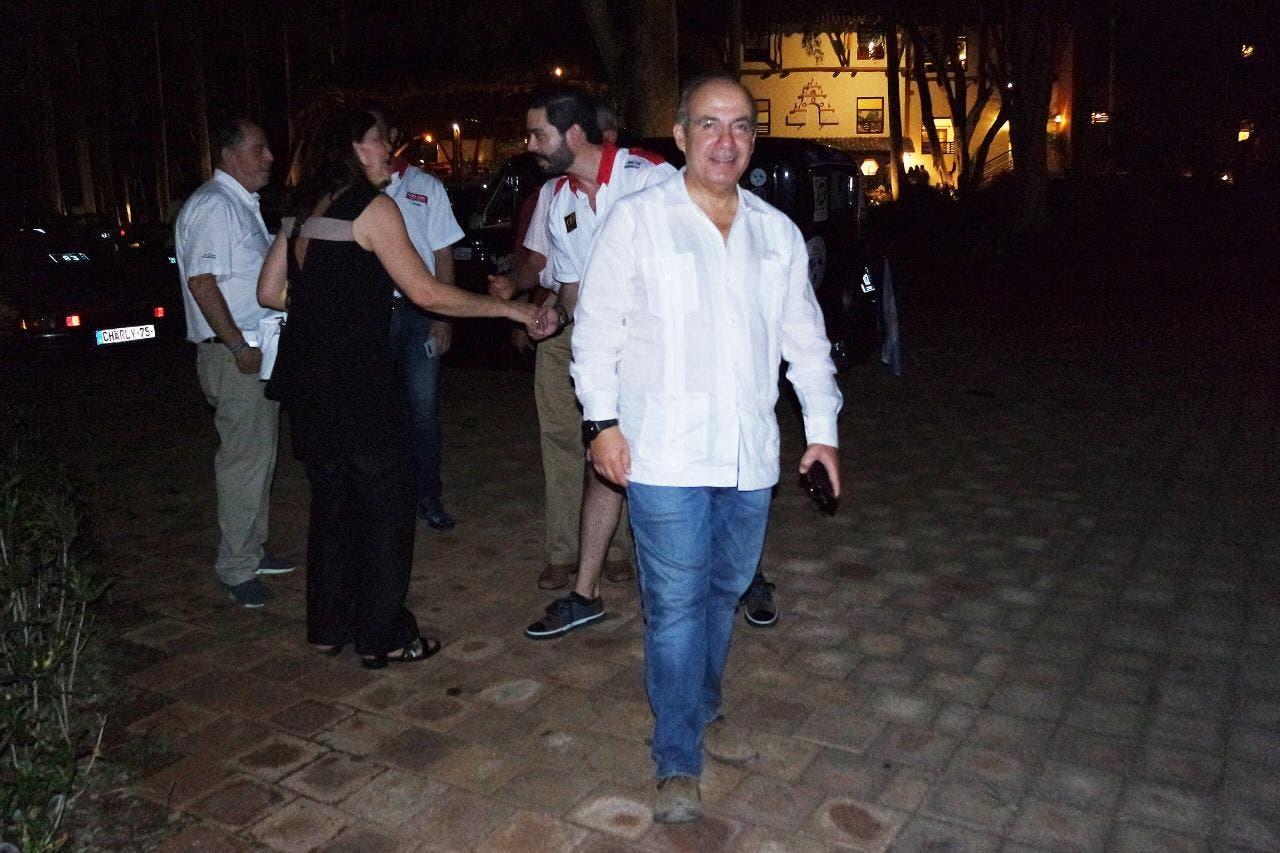 Participa el expresidente Calderón en Rally Maya