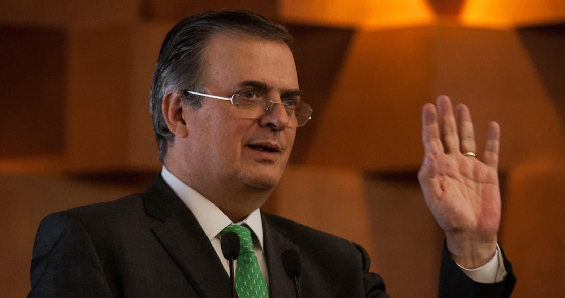 México, no es culpable de migración ni consumo de drogas en EU: Ebrard