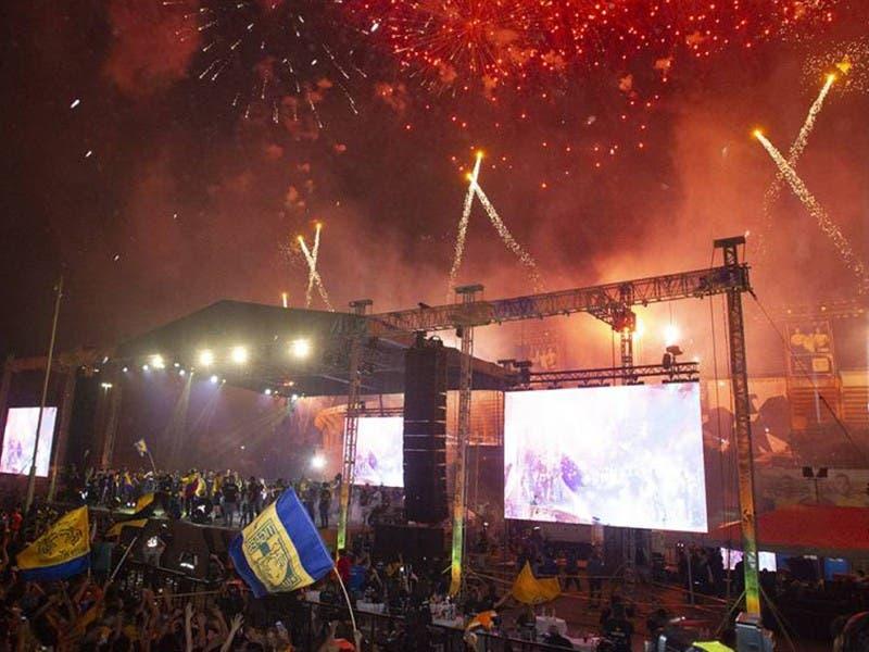 Liga MX: Con 150 mil aficionados, Tigres celebra campeonato