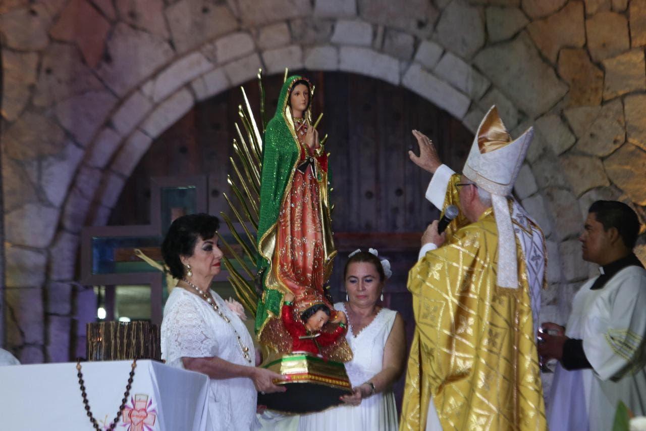 """""""Celebración de la primera misa documentada en territorio mexicano"""""""