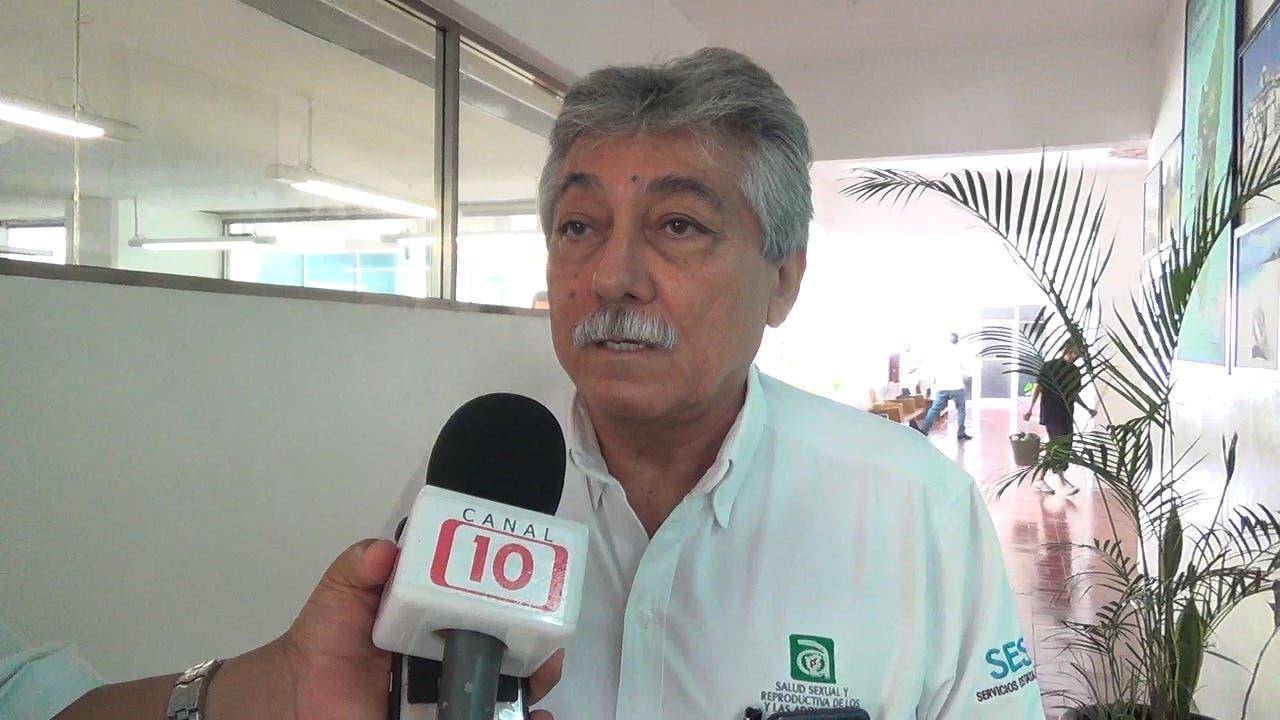 Doctor Homero León Perez, jefe de la jurisdicción sanitaria número 2