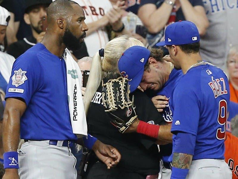 MLB: Amora Jr. de los Cubs golpea accidentalmente a una niña