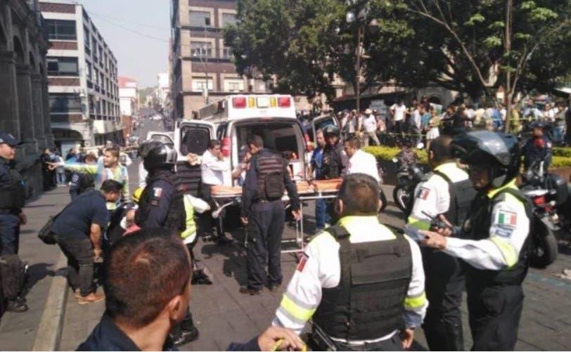 Caos en Cuernavaca, balean a manifestantes, hieren a cuatro