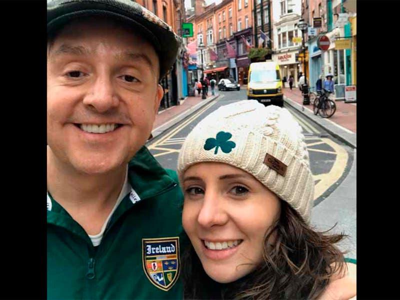 Esposa de Daniel Bisogno quiere 20 por ciento de lo que gana