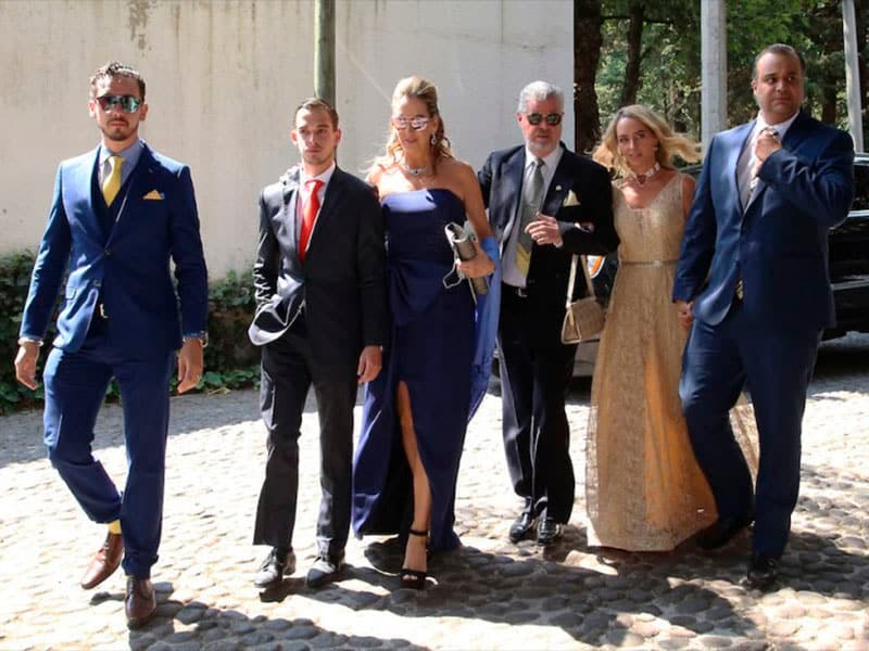 Reúne boda a Peña, Del Mazo, Deschamps…
