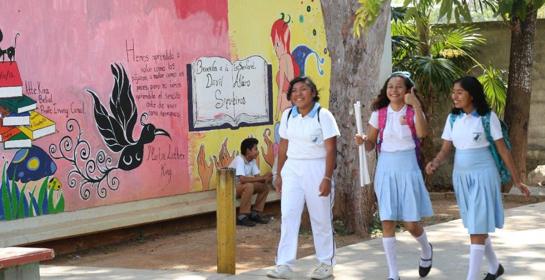 Actualmente, la matrícula escolar es de 460 mil estudiantes.