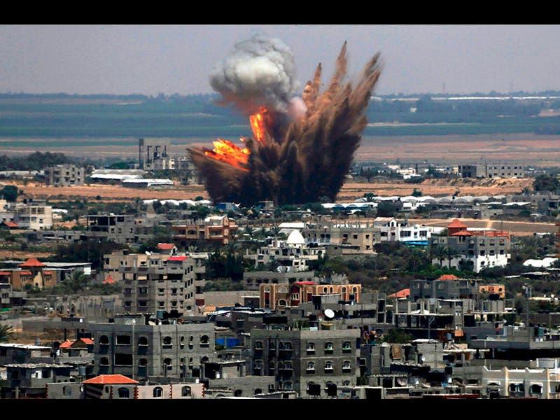 Israel cierra su frontera con Gaza tras bombardeo