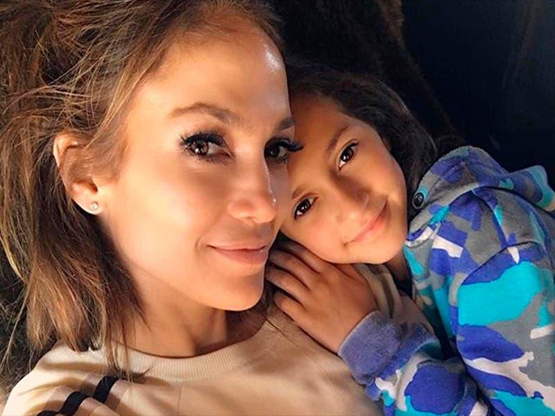 Hija de Jennifer Lopez y Marc Anthony heredó el talento