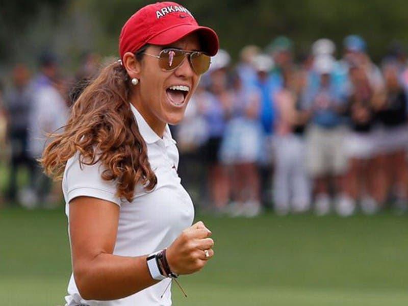 Golfista mexicana, María Fassi, se consagra campeona de la NCAA