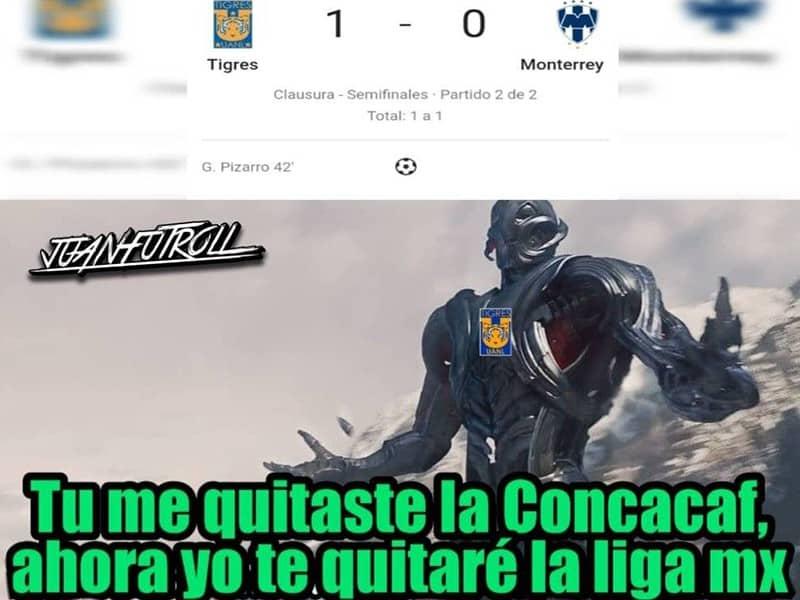 Liga MX: Los memes de Tigres vs Monterrey en Semifinales Clausura 2019