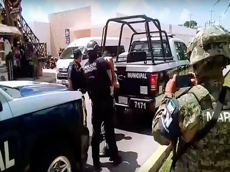 Detiene a ocho personas tras operativo en la zona sur de Cozumel