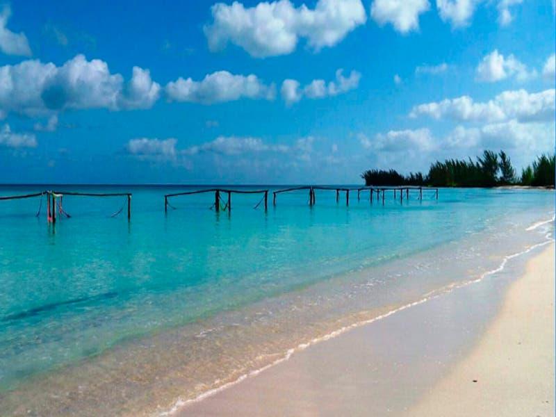 Estas playas de Quintana Roo están libre de sargazo
