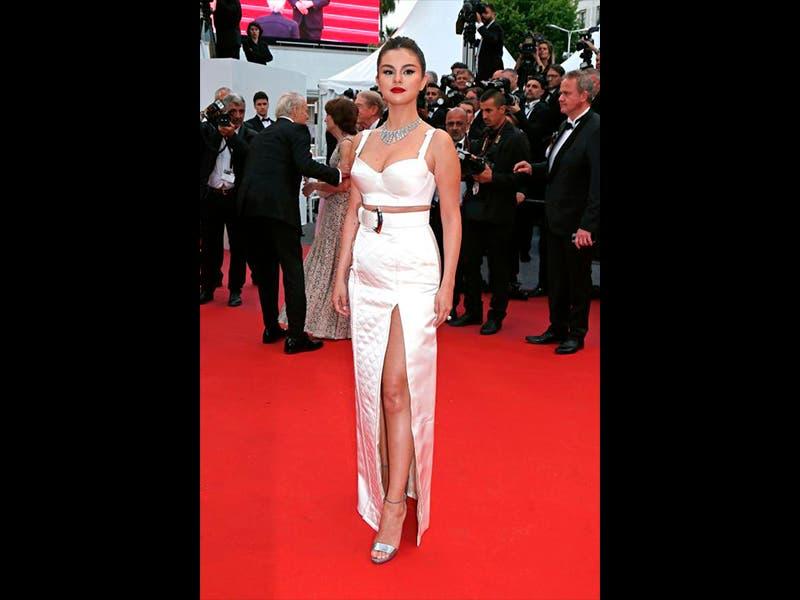 Triunfal regreso de Selena Gomez en Cannes